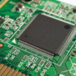 motherboard with chip